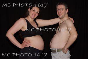 couple grossesse humour charente