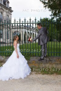 couple mariés jardin public cognac charente
