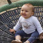 portrait enfant bas âge jardin public charente
