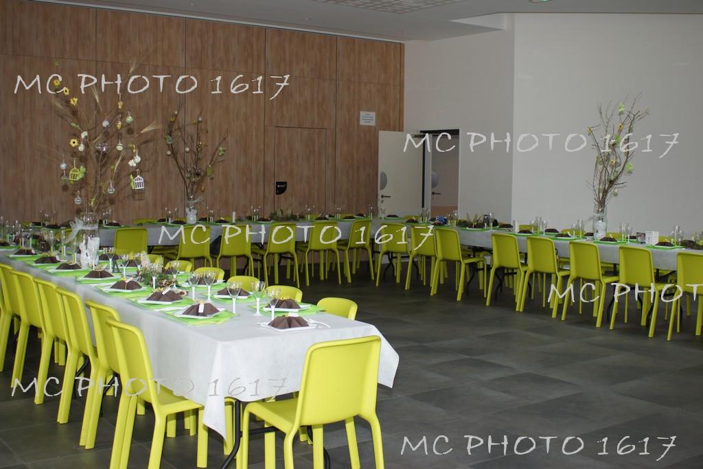 Decoration Salle Bapteme Ton Vert Et Marron Mc Photo 1617