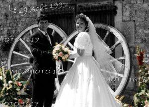 retouche-photo-ancienne-mariage-noir-et-blanc-charente-maritime